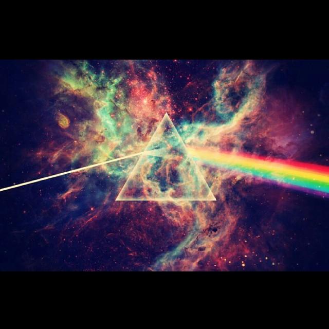 Galaxy Rainbow Arcenciel Fond Ecran Fonddecran Banquedimages Banquedimage Swag Triangle Swagg Rainbowgram