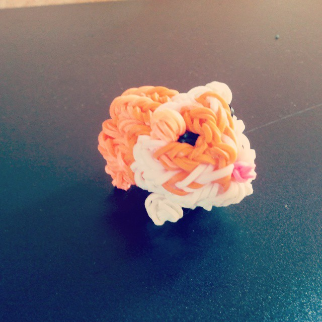 Rainbow Loom Gummib/änder Pink