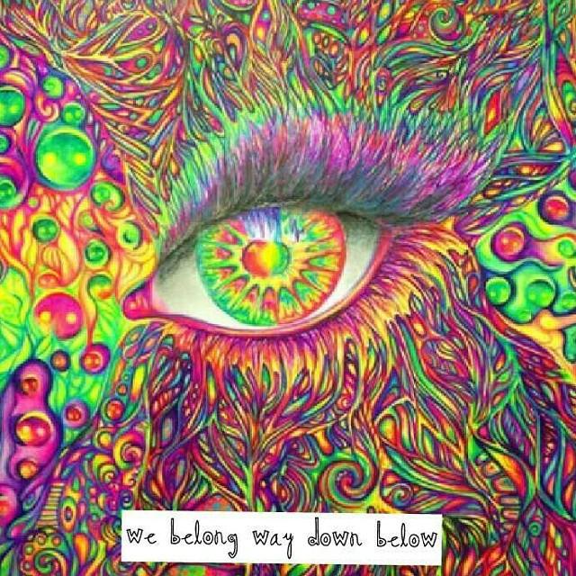 Acid Drugs Dawn Trippy Thirdeye Tripping Trippyart