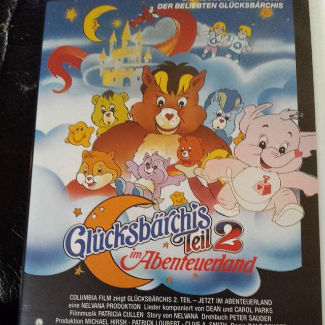 4b322491045f5  video  kasette  bär  bärchen  glücksbärchi  glücksbärchis  regenbogen   kinder  kinderfilm