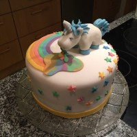 #regenbogen #kotzendes #einhorn #torte #made #by #mama #foodporn #instafood #lecker #rainbow #unicorn #best #cake #ever #for #my #best #friend 😊😊