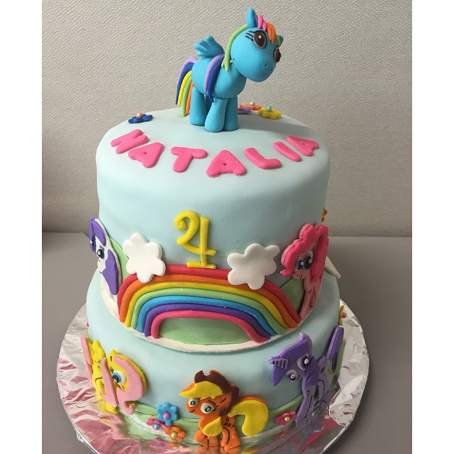 My Little Pony Cake Dolcealexa Cake Mylittlrpony Pony Cute