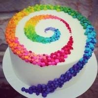 Make a wish! #wish#torta#gateaux#rainbow#arcobaleno#cake#dolci#dessert#food#cibo#instacake#instafood#colours#colori#cook#cucinare#wonderful#love#verybest#sweet#dulce#dolce#art#cakeart#arte