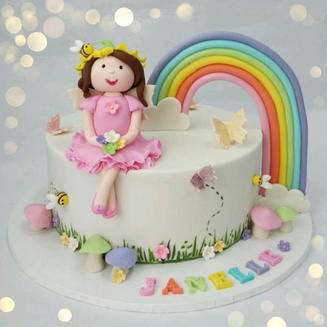 Fairy Themed St Birthday Cakes