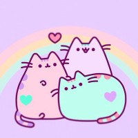 #pusheen #pink #cat #kawaii #rainbow #nyan #neko #meow #pastel #pastelpink #candy #pastelcandy 💘 💘 💘 Have u ever stalked someone so much that you can't stop your self? Do you save their pictures on your phone/device? Do you long to see them everyday? I do. 🌚🌚🌚I love stalking,okay...and I imagine a lot of things going on between us as well ... No,that's not what I mean. U dirty minded people 🍦🍦🍦