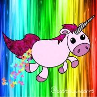 Das ist Pancake. Bancake ist ein rosapinkes Einhorn und kackt regenbogenfarbene Schmetterlinge. Also ganz normal 😏😂 ---- Auf wunsch von @mm_nina, hoffe, das ist gut so😋 ---- #einhorn #unicorn #rainbow #regenbogen #pink #rosa #pinkrosa #rosapink #butterfly #butterflies #schmetterling #schmetterlinge