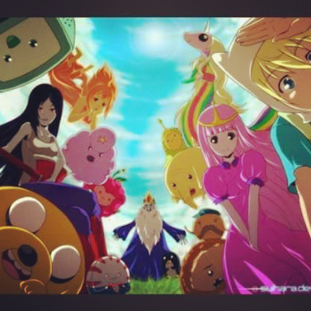 Hora de aventura en anime jake finn dulce princesa arcoiris hora de aventura en anime jake finn dulce princesa arcoiris marceline bmo rey helado gunter princesa flama grumosa tronkitos pan de altavistaventures Choice Image