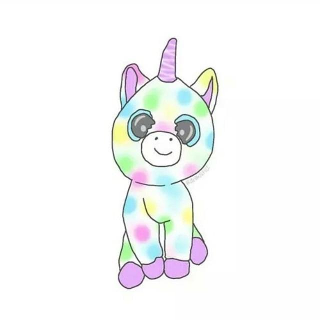 unicorno unicornoarcobaleno separatori arcobaleno