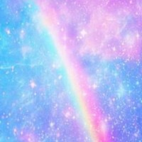 #LINEDECO #wallpaper #PastelGalaxywithRainbow #rainbow #galaxy #pastel