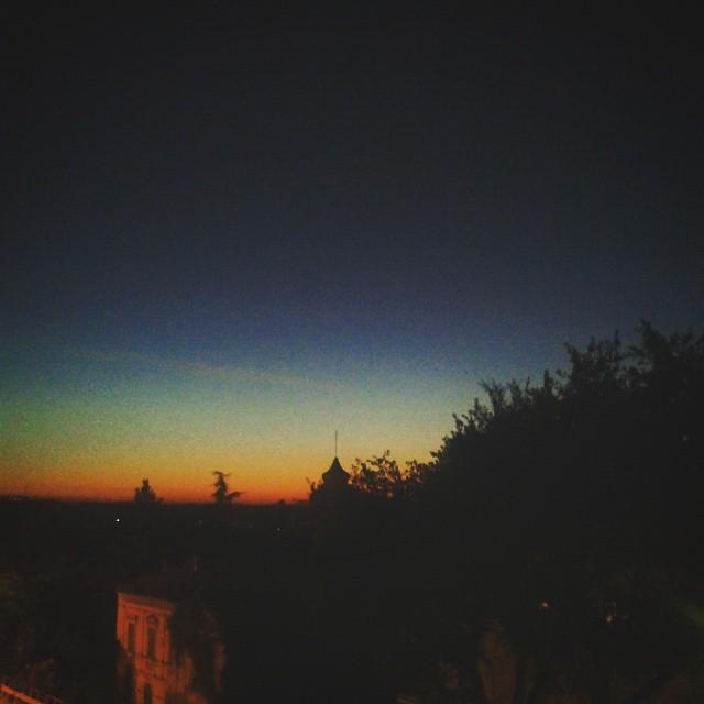 Il vero #arcobaleno... #tramonto