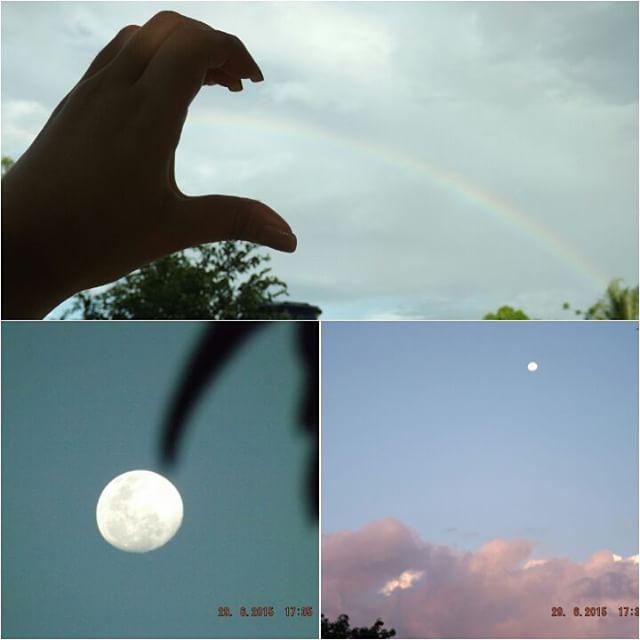 Beleza natural que Deus nos deu! Wonderful : D #arcoiris #semfiltro