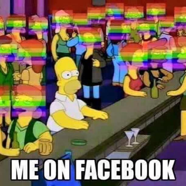 Me on Facebook 😒 #genervt #GegenDenStrom #jesuischarlie #Rainbow #Regenbogen