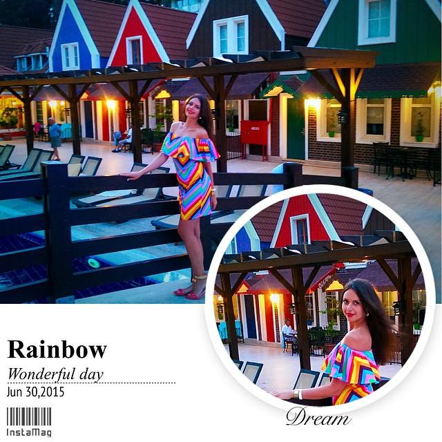 Somewhere over the rainbow🌈😋 #улыбки #море #позитив #отдыхаемхорошо #LM🌴TRIP #шикарнаядевушка #redlips #rainbow