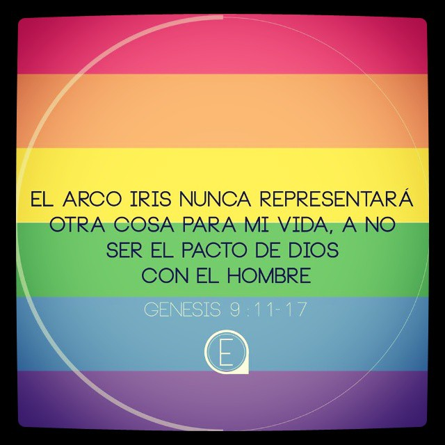#fe #arcoiris #Dios