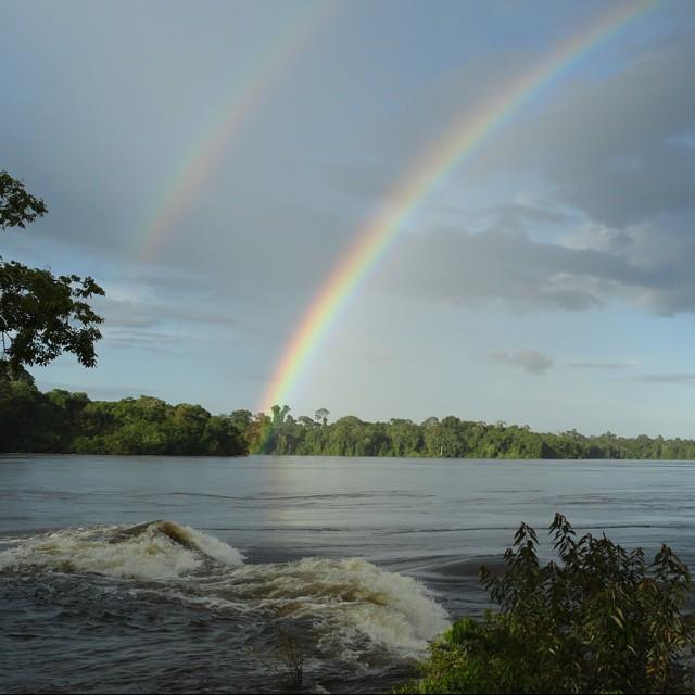 #arcoiris #espectro #riocaura #edobolivar #venezuela