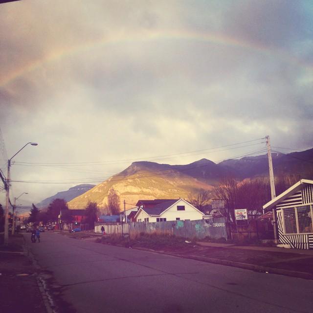 #coyhaique #arcoiris #hermoso
