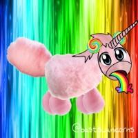 Das ist Manni. Manni besteht aus Zuckerwatte. Aber die Zuckerwatte ist radioaktiv. Genauso wie seine Ohren. Aber seine Ohren sind gar keine Ohren sondern Lollis. Und eigentlich ist das gar kein Regenbogen, den Manni kotzt, sondern radioaktive Cola. ---- @sanja_meister tut mir leid, dass du so lange warten musstest😁 ---- #zuckerwatte #einhorn #unicorn #rainbow #regenbogen #rosa #pink #lolli #lol #radioaktiv #regenbogenkotze