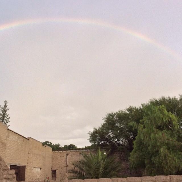 Espectacular #arcoiris #tehuacan